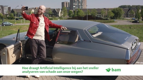 Artificial intelligence bij asfaltschadeherkenning