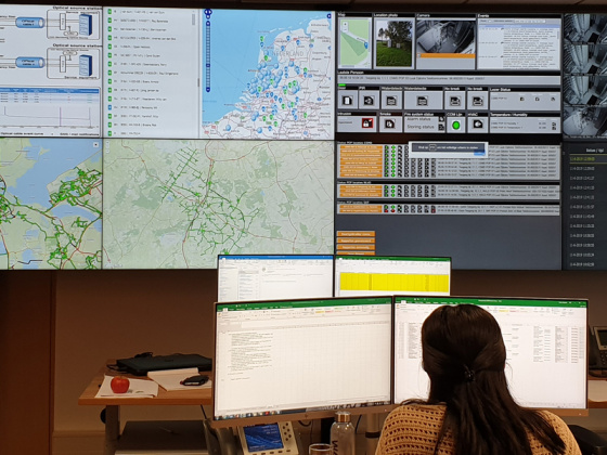 Netwerk operations center (NOC)